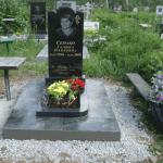 Монтаж памятника и цветника на могилу