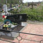 Монтаж памятника