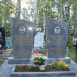 Установка памятников с цветником