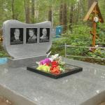 Установка памятника с укладкой плитки